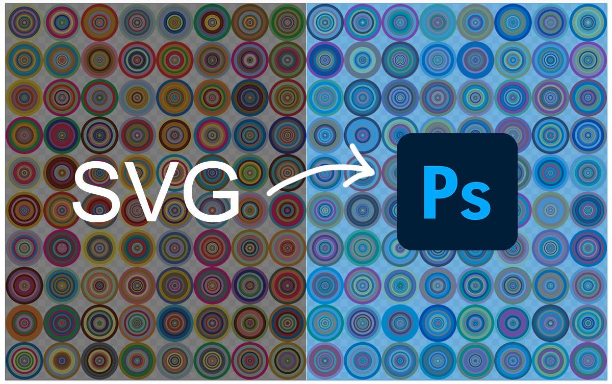 SVG形式の素材をPhotoshopに配置する方法